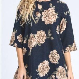 Jodifl Floral Tunic NWOT